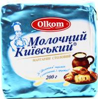 Маргарин Olkom Молочний Київський столовий 200г