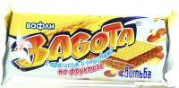 """Вафлі Вітьба """"Забота"""" з арахісом та висівками на фруктозі 33г"""