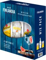Горілка Finlandia Grapefruit Грейпфрут 37.5% 0.5 л  + Швепс Indian Ton б/а ж/б 330 мл 2шт.