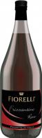Напій на основі вина Fiorelli Frizzantino Rosso червоний солодкий 7,5% 1,5л
