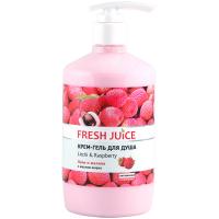 Крем-гель для душу Fresh Juice лічі та малина 750мл