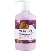 Крем-гель для душу Fresh Juice Маракуйя та Магнолія, 750 мл