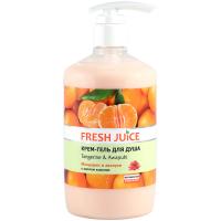 Крем-гель для душу Fresh Juice Мандарин і Авапухі, 750 мл