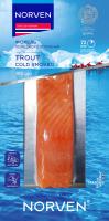 Форель Norven філе-шматок на шкірі холодного копчення 180г