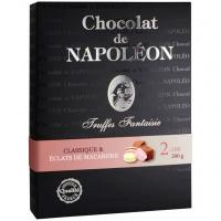 Цукерки Chocolat de Napoleon Трюфелі класичні з печивом 200г