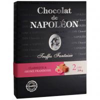 Цукерки Chocolat de Napoleon Трюфелі класичні з малиною 200г