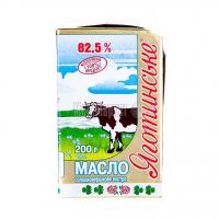 Масло Яготин солодковершкове 82,5% 200г