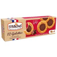 Галети St Michel здобні з шоколадом 121г