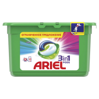 Гель Ariel для прання Color капсули 13*27г