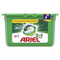 Гель Ariel для прання Гірське джерело капсули 13*27г