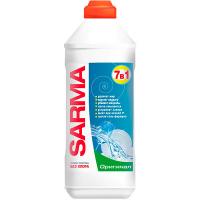 Гель для миття посуду Sarma 7в1 оригінал 500мл