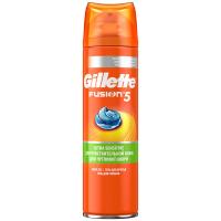 Гель Gilleffe для гоління Fusion 5 sensitive 200мл