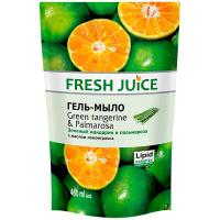 Гель-мило Fresh Juice зел.мандарин і пальмароза 460мл