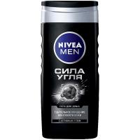 Гель Nivea Men для душу Сила вугілля 250мл