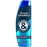 Гель-шампунь Head&Shoulders Energizing для душу 270мл