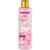 Засіб миючий рідкий для прання білизни та одягу: гель для прання WOOLITE Преміум Делікатний 900мл