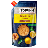 Гірчиця Торчин Лимонна з медом 115г