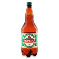 Пиво Перша Приватна Броварня Галицька Корона світле фільтроване 4.6% 1,2л