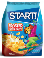 Пластівці Start кукурудзяні глазуровані 700г