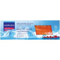 Лосось арктичний Norven холодного копчення філе на шкірі 250г