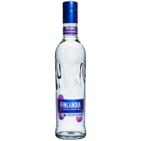 Горілка Finlandia Blackcurrant Чорна смородина 37,5% 0,5л