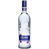 Горілка Finlandia Blackcurrant Чорна смородина 37,5% 1л
