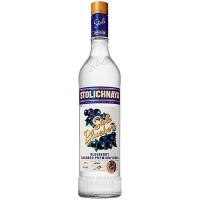 Горілка Stolichnaya Blueberi смак чорниці 0,7л