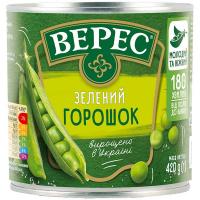Горошок Верес зелений ж/б 420мл
