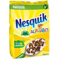 Готовий сніданок Nestle Nesquik Alphabet пак. 460г