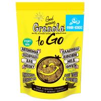 Сніданок сухий Granola To Go запечений фінік+кокос 140г