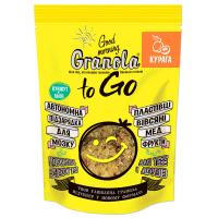 Сніданок сухий Granola To Go запечений з курагою 140г