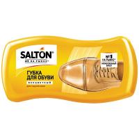 Губка-хвиля для блиску взуття з гладкої шкіри Salton Безбарвна