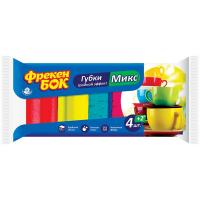 Губки Фрекен Бок кухонні потрійний ефект 4+2шт.