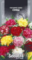 Насіння Seedera Квіти Гвоздика Шабо суміш 0,2г