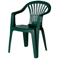 Стілець пластиковий зелений 180VE