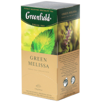 Чай Greenfield Green Melissa зелений 25*1,5г