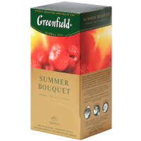 Чай Greenfield Summer Bouquet 25*1.5г