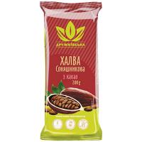 Халва Дружковская соняшникова з какао 200г