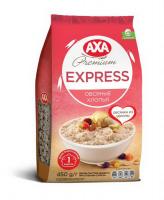 Пластівці вівсяні Axa Express швидк. приготув. пак. 450г