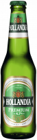 Пиво Hollandia premium lager преміум лагер світле фільтроване 4.7% 0,33л с/б