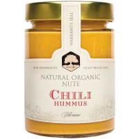 Хумус Natural Organic Nute з червоним перцем чилі с/б 315г