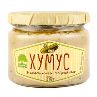 Хумус Інша Їжа з солоними огірками с/б 270г