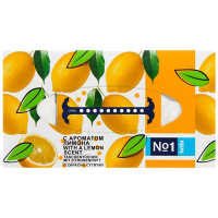 Хустинки Bella №1 папер.універсал.двошар. лимон 150шт