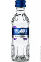 Горілка Finlandia Blackcurrant Чорна смородина 37,5% 50мл