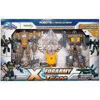 Іграшка AbleStar Набір роботів армійських зі світ.мечем 3927