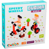 Іграшка Cubika Конструктор Швидкі колеса арт.15290