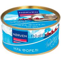 Ікра лососева форелі Norven, 110г