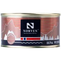 Ікра лососева Norven зерниста форелі ж/б 120г