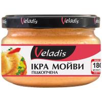 Ікра мойви Veladis підкопчена у вершковому соусі с/б 180г