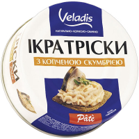 Ікра Veladis Тріски з копченою скумбрією 100г